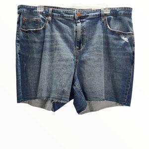 Universal Thread Plus Size Denim Shorts 22, 24, 26